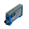 FX3/0N-0F Photo-Electric Switch  Amp. For Optical Fibre, M8 Plug DC NO/NC NPN, Adjustable For Use With Fibre Type CF/CV