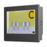 IV15H-SEAA Colour iView HMI 15  Screen 65k Colours TFT Touch 1024x768 3 Serial Ports, LAN, MicroSD Aluminium Bezel